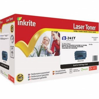 Compatible Brother TN241Y Yellow Laser Toner Cartridge