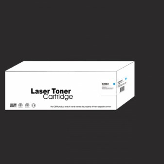 Compatible Brother TN328C Extra High Yield Cyan Laser Toner Cartridge