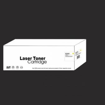 Compatible Brother TN328Y Extra High Yield Yellow Laser Toner Cartridge