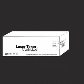 Compatible Dell D1250C High Yield Cyan Laser Toner Cartridge