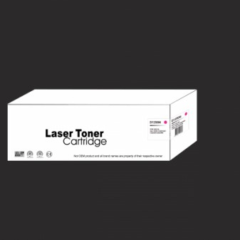 Compatible Dell D1250M High Yield Magenta Laser Toner Cartridge