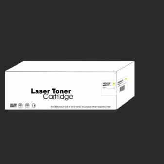 Compatible HP 130A (CF352A) Yellow Laser Toner Cartridge