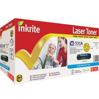 Compatible HP 304A (CC531A) Cyan Laser Toner Cartridge