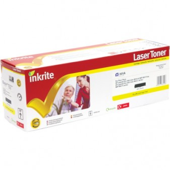 Compatible HP 305A (CE412A) Yellow Laser Toner Cartridge