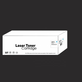 Compatible HP 312A (CF381A) Cyan Laser Toner Cartridge