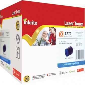 Compatible Xerox 106R01271 Cyan Laser Toner Cartridge