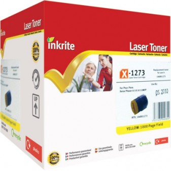 Compatible Xerox 106R01273 Yellow Laser Toner Cartridge