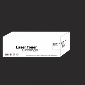 Remanufactured HP 307A (CE743A) Magenta Laser Toner Cartridge