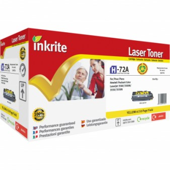 Remanufactured HP 309A (Q2672A) Yellow Laser Toner Cartridge