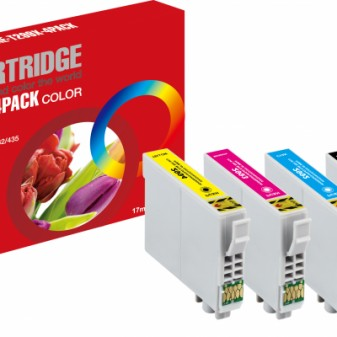 Set of 4 Compatible Epson 29XL (T2996) High Yield Black Cyan Magenta & Yellow Inkjet Cartridges