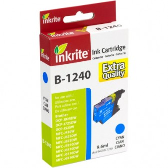 Compatible Brother LC1240C Cyan Inkjet Cartridge