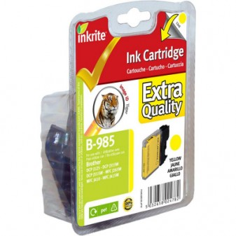Compatible Brother LC985Y Yellow Inkjet Cartridge
