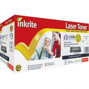 Compatible Brother TN135BK High Yield Black Laser Toner Cartridge