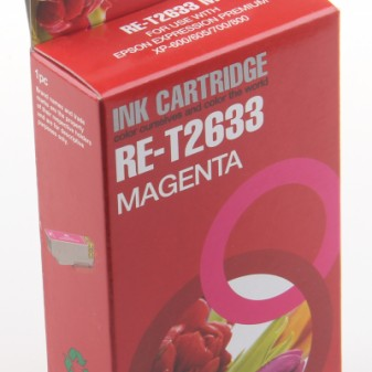 Compatible Epson 26XL Polar Bear (T2633) High Yield Magenta Inkjet Cartridge