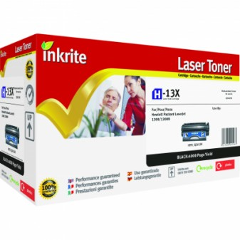 Compatible HP 13X (Q2613X) High Yield Black Laser Toner Cartridge