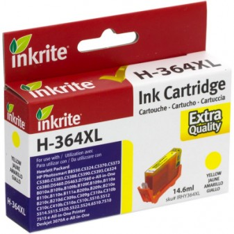 Compatible HP 364XL (CB325EE) High Yield Yellow Inkjet Cartridge