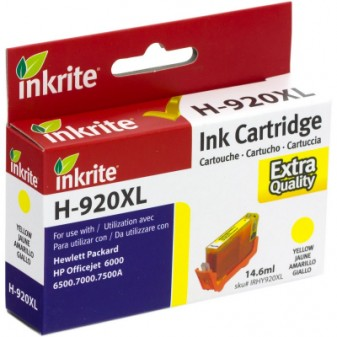 Compatible HP 920XL (CD974AE) High Yield Yellow Inkjet Cartridge