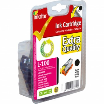 Compatible Lexmark 100XL (14N1068E) High Yield Black InkJet Print Cartridge