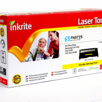 Compatible Samsung CLTY4072S Yellow Laser Toner Cartridge