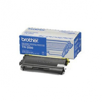Original Brother TN2000 Black Laser Toner Cartridge