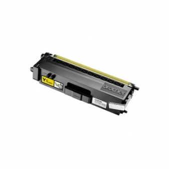 Original Brother TN325Y High Yield Yellow Laser Toner Cartridge