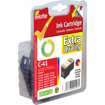Remanufactured Canon CL41 (0617B001) TrIColour Inkjet Cartridge