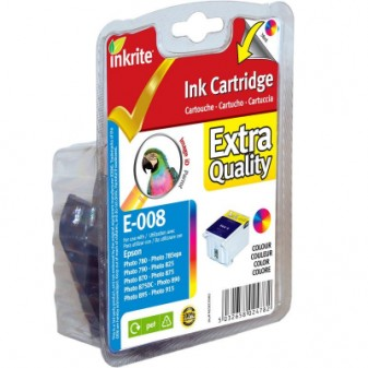 Remanufactured Epson Parrot (T008401) Combined 5-Colour Inkjet Cartridge