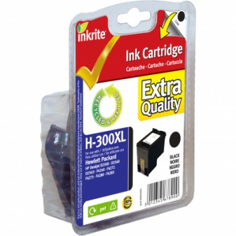 Remanufactured HP 300XL (CC641EE) High Yield Black Inkjet Cartridge