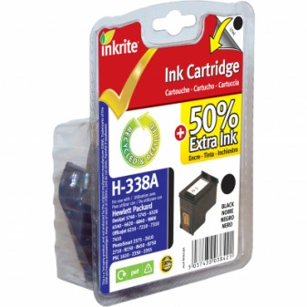 Remanufactured HP 338 (C8765EE) Black Inkjet Cartridge