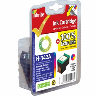 Remanufactured HP 342 (C9361EE) TrIColour Inkjet Cartridge