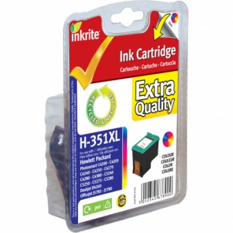 Remanufactured HP 351XL (CB338EE) High Yield TrIColour Inkjet Cartridge