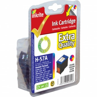 Remanufactured HP 57 (C6657A) High Yield TrIColour Inkjet Cartridge