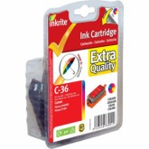 Compatible Canon CLI36 (1511B001) TrIColour Inkjet Cartridge