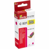 Compatible Canon CLI521M (2935B001AA) Magenta Inkjet Cartridge