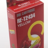 Compatible Epson 24XL Elephant (T2434) Yellow Inkjet Cartridge