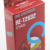 Compatible Epson 26XL Polar Bear (T2632) High Yield Cyan Inkjet Cartridge