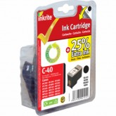 Remanufactured Canon PG40 (0615B001) Black Inkjet Cartridge