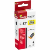 Compatible Canon CLI521BK (2933B001AA) Black Inkjet Cartridge