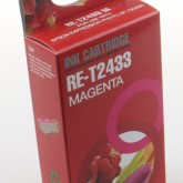 Compatible Epson 24XL Elephant (T2433) Magenta Inkjet Cartridge