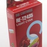 Compatible Epson 24XL Elephant (T2435) Light Cyan Inkjet Cartridge