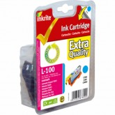 Compatible Lexmark 100XL (14N1069E) High Yield Cyan InkJet Print Cartridge