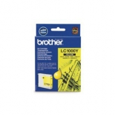 Original Brother LC970Y/1000Y Yellow Inkjet Cartridge